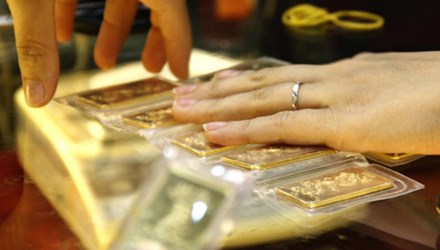 giá vàng hôm nay: giá vàng cuối phiên giao dịch tăng nhẹ