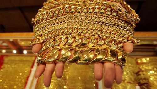 Giá vàng hôm nay trên thị trường thế giới là 33,73 triệu đồng/lượng, thấp hơn giá vàng trong nước