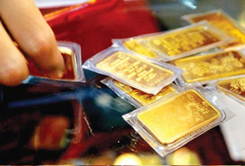 Chênh lệch giữa giá vàng trong nước và giá vàng thế giới hôm nay đang ở khoảng 500.000 đồng/lượng
