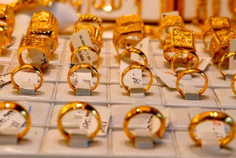Tính chung cả tuần, giá vàng trong nước đã tăng tới 430.000 đồng/lượng