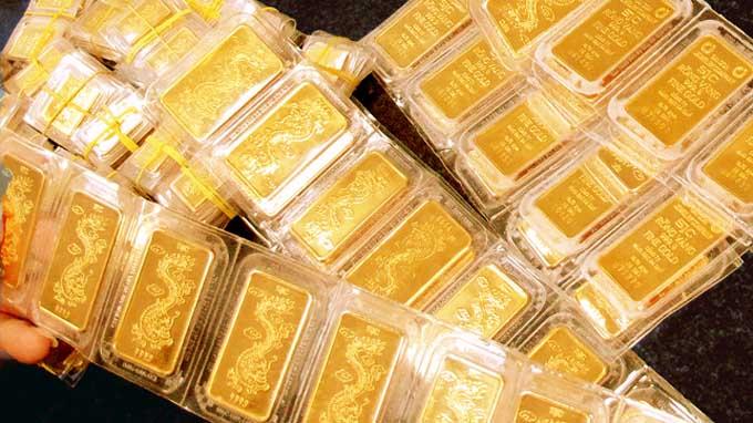 Chênh lệch giữa giá vàng trong nước và giá vàng thế giới hôm nay ở mức 3,9 triệu đồng/lượng