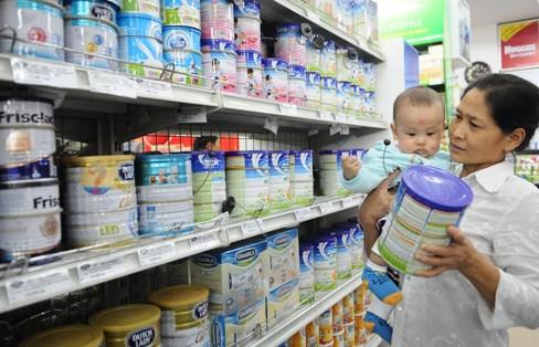 Giá sữa cho trẻ em dưới 6 tuổi