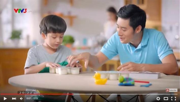 quảng cáo sữa chua Ba Vì