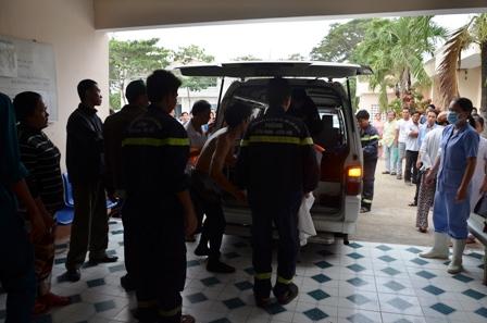 7 học sinh, học sinh tử nạn,rừng sác, mai táng 7 học sinh, thi thể nạn nhân