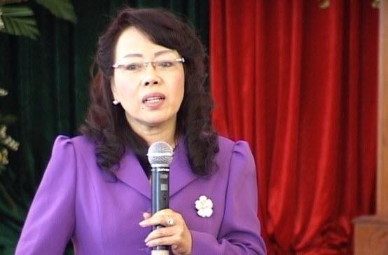 Bộ trưởng Bộ y tế Nguyễn Thị Kim Tiến, ngành y, bộ y tế, người bệnh, rủi ro nghề nghiệp