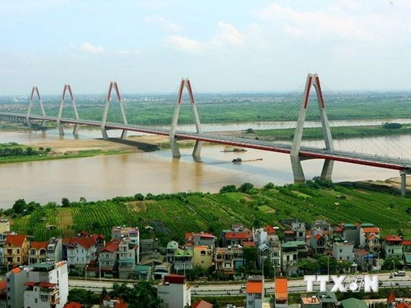 cầu dây văng, cầu nhật tân, cầu việt nhật, UBND Hà nội, bộ giao thông, quận Tây Hồ, sông Hồng