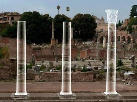đền thờ hòa bình, thành Rome, italia, di sản, kiến trúc, sau công nguyên