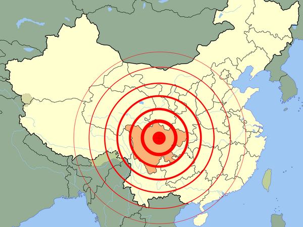 động đất, động đất ở trung quốc, Tân Hoa Xã