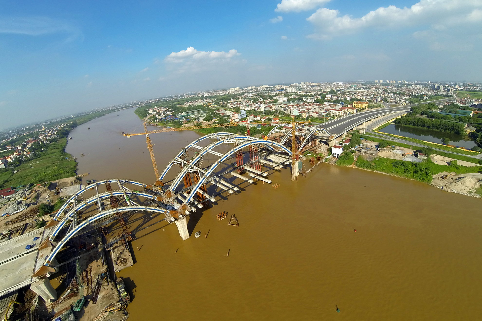 dự án đường 5, Cầu Chui, Cầu Đông Trù, Tả Ngạn