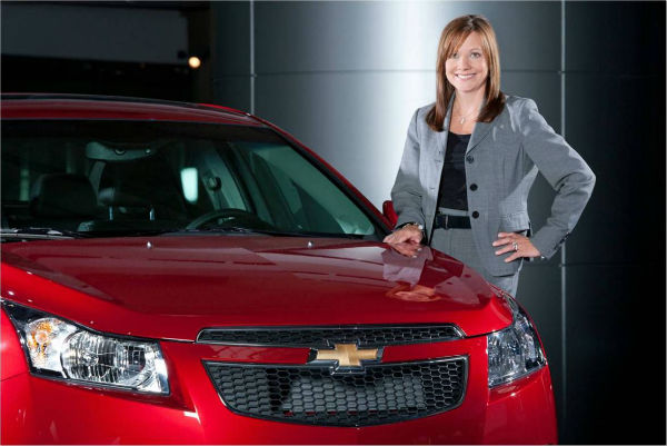 CEO nữ, General Motor, Mary Barra