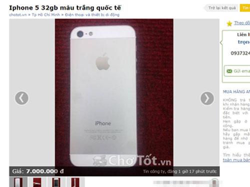 iphone 6, lừa đảo iphone 6, iphone 6 giả, lừa đảo, thương mại điện tử, bán hàng quan mạng