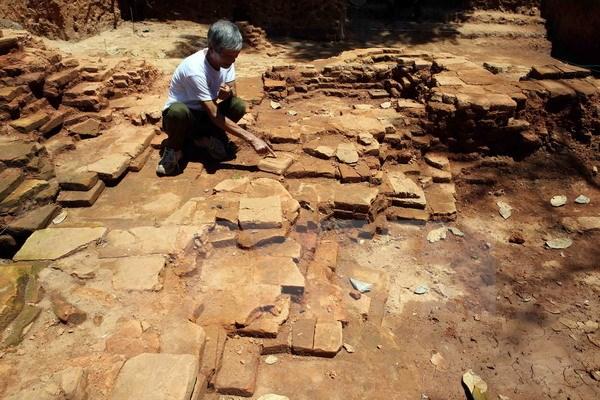 làng cổ, bãi soi tuyên quang, khảo cổ, di chỉ, sông phó đáy