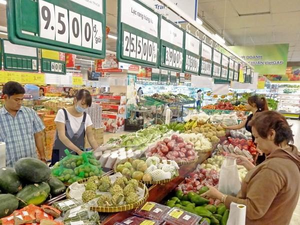 Thực phẩm tươi, mua sắm, siêu thị, TP HMC, hàng hóa tết, giảm giá, doanh số bán hàng