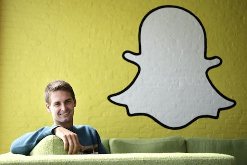 Snapchat, chia sẻ ảnh, Evan Spiegel