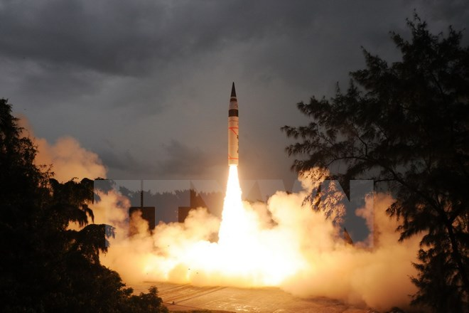 ấn độ thử tên lửa, tên lửa, tên lửa đẩy, nghiên cứu không gian, quỹ đạo