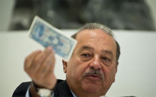 Carlos Slim, tỷ phú, tải sản,