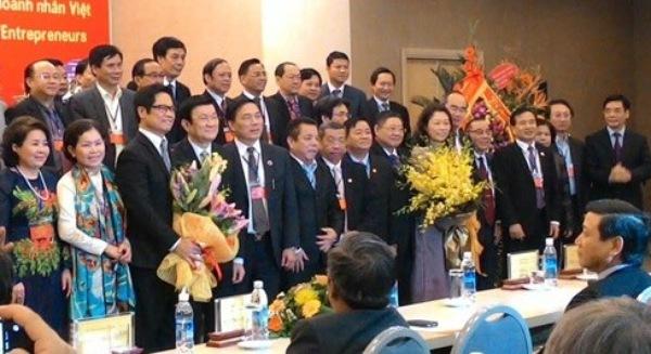 Chủ tịch VCCI, Mai An Tiêm, Thương mại, Công nghiệp, thể chế kinh tế, doanh nghiệp, doanh nhân