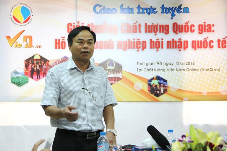 Tổng cục trưởng Tổng cục Tiêu chuẩn Đo lường Chất lượng Trần Văn Vinh phát biểu khai mạc chương trình