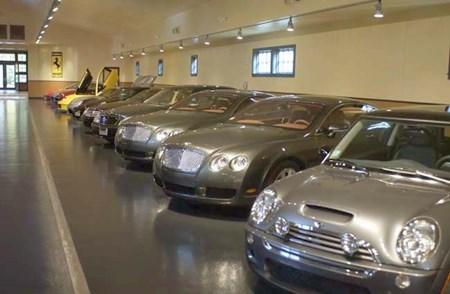 Hình ảnh những siêu xe của vị Quốc vương giàu nhất thế giới