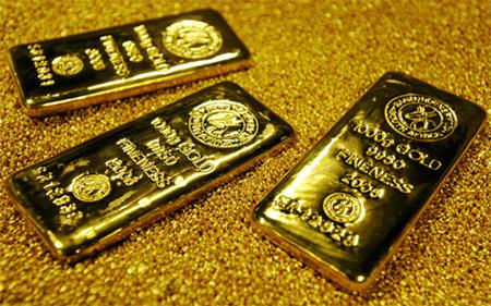 giá vàng hôm nay ngày 23/4/2015 vừa chạm đáy ba tuần trong khi USD mạnh lên