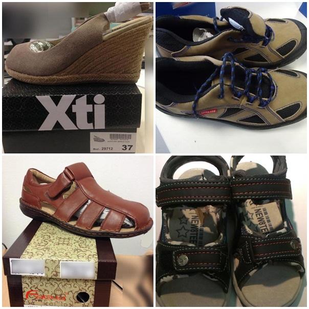 4 sản phẩm giày dép Trung Quốc chứa hóa chất có thể gây ung thư
