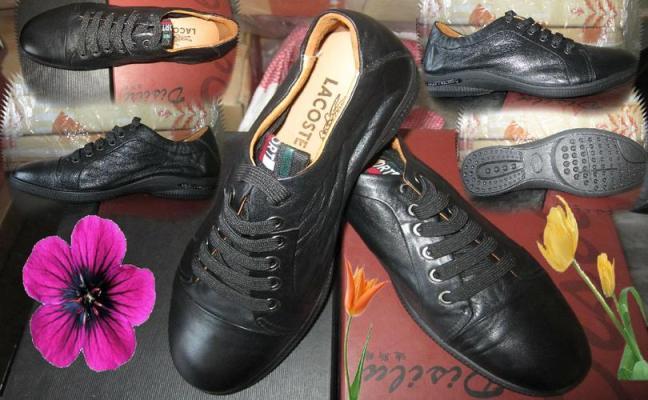 cửa hàng bán giày lacoste
