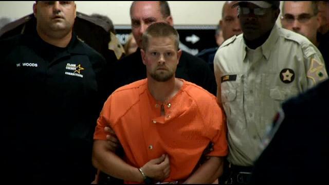 Joseph Oberhansley,kẻ giết người tàn bạo và man rợ bị bắt. Ảnh Wdrb