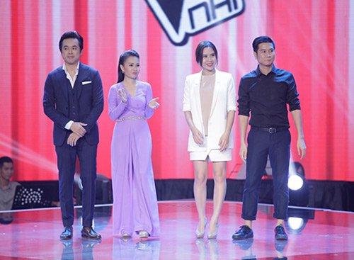4 HLV Dương Khắc Linh, Cẩm Ly và vợ chồng Lưu Hương Giang – Hồ Hoài Anh xuất hiện rạng rỡ trên sân khấu Giọng hát Việt nhí 2015