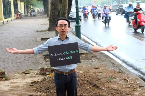 Dư luận đã có những phản ứng trái chiều trước việc chặt hạ cây xanh trên nhiều tuyến phố Hà Nội