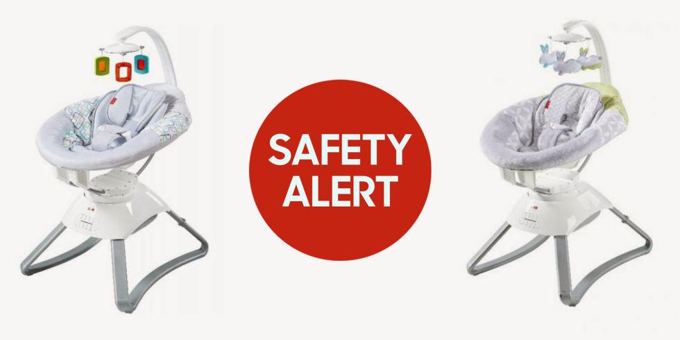 Fisher-Price thu hồi 63.000 ghế ngồi cho trẻ sơ sinh do nguy cơ gây hỏa hoạn