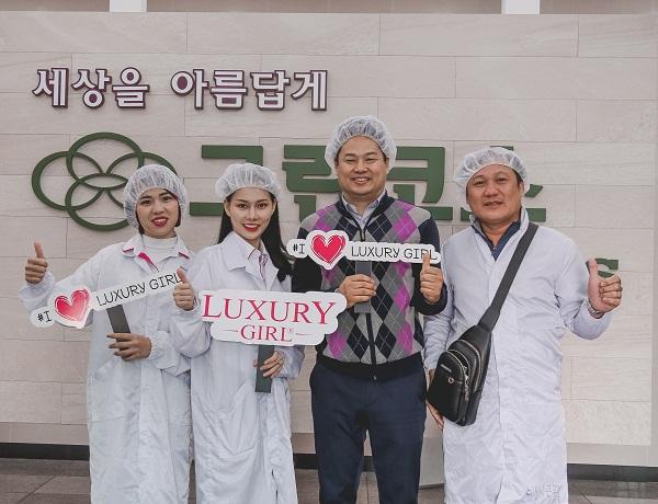 Luxury Girl hợp tác sản xuất mỹ phẩm tại Hàn Quốc với vốn đầu tư hơn 1 triệu đô - ảnh 1