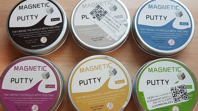 Đồ chơi Magnetic Putty chứa lượng asen cao gấp 7 lần cho phép - ảnh 1