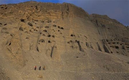 Hang động từng là vương quốc Mustang cổ xưa