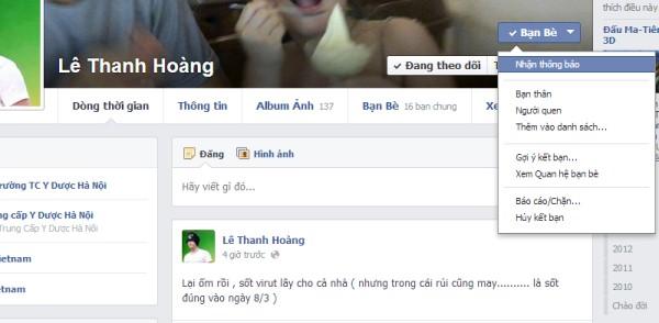 facebook tin rác