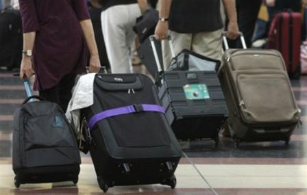 Hành lý khi đi máy bay