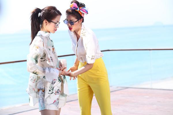 Thiên An (An Nguy) luôn là thí sinh khiến Phạm Hương lo lắng vì cô chậm hơn các thành viên trong đội và không biết cách thay đổi để giúp mình tốt hơn.