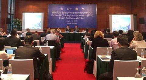 APEC 2017 SOM 2: Tạo thuận lợi về chứng nhận xuất khẩu - ảnh 1