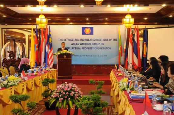 Cuộc họp lần thứ 53 Nhóm Công tác về Hợp tác Sở hữu trí tuệ các nước ASEAN  - ảnh 1