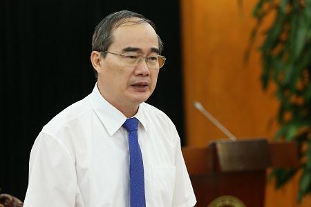 Bí thư Thành ủy TP. Hồ Chí Minh Nguyễn Thiện nhân đến thăm và làm việc với Bộ KH&CN - ảnh 2