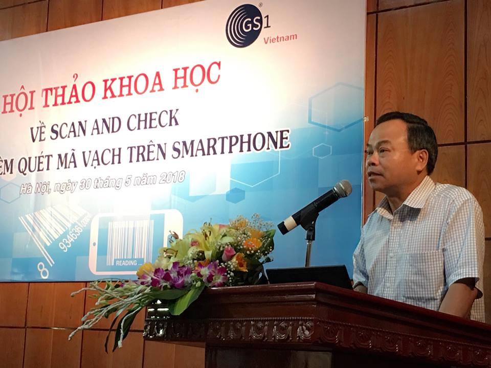Tổng cục trưởng Trần Văn Vinh: Cần xây dựng hệ sinh thái về mã số mã vạch - ảnh 1