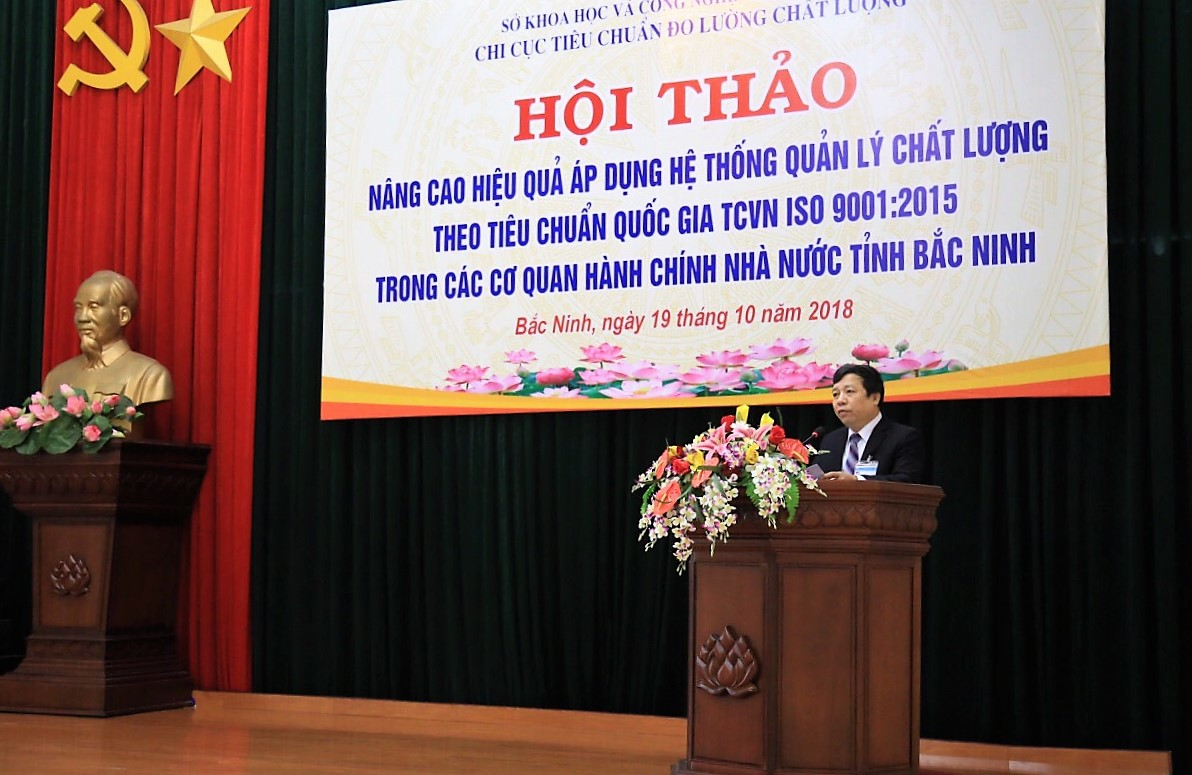 Bắc Ninh: Áp dụng ISO nâng cao chỉ số cạnh tranh, minh bạch trong quản lý hành chính - ảnh 2
