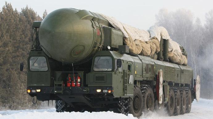 Hệ thống tên lửa đạn đạo Topol có tầm bắn 10.000km