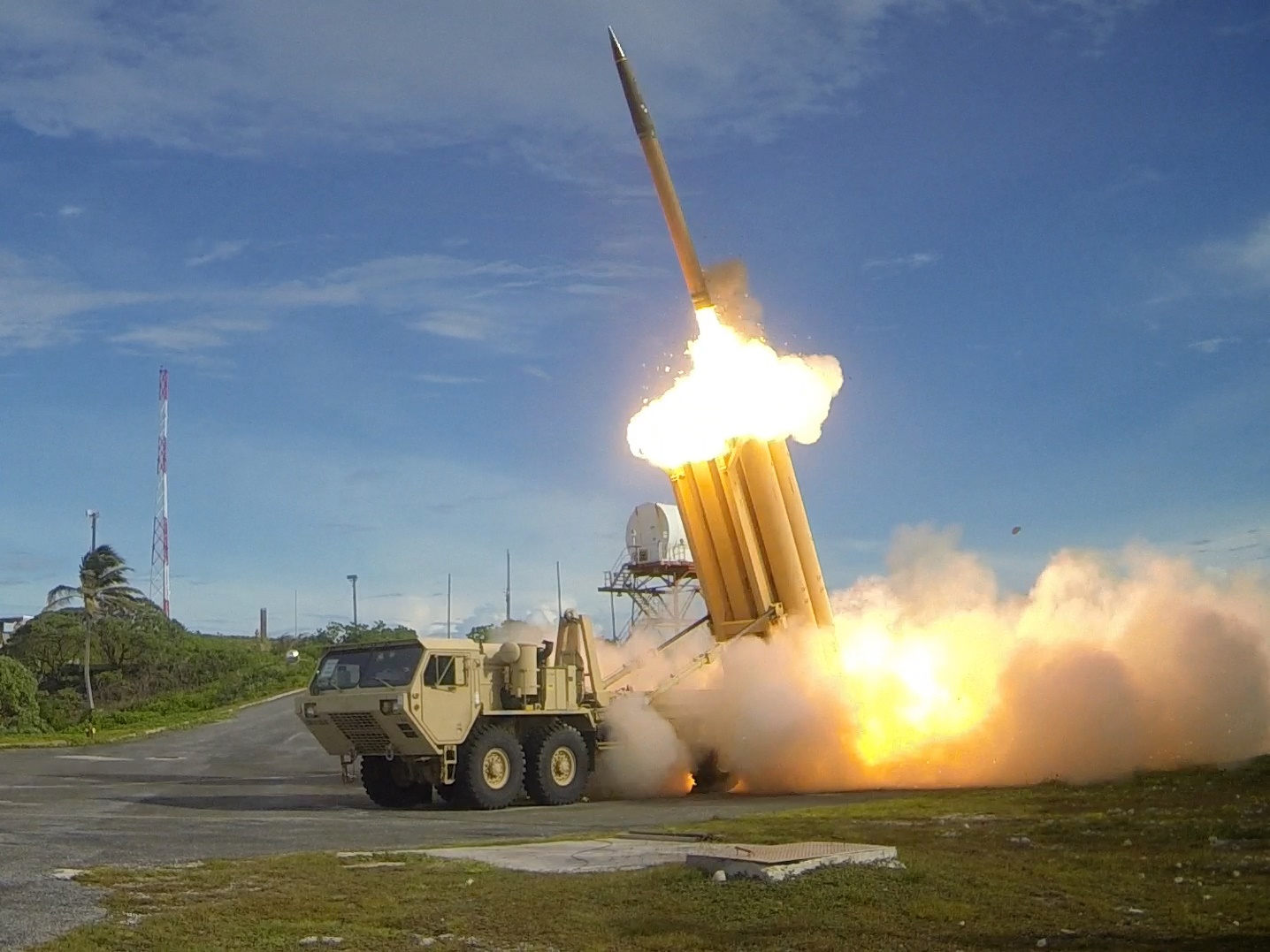 Hệ thống tên lửa THAAD là một trong những vũ khí chủ lực của quân đội Mỹ