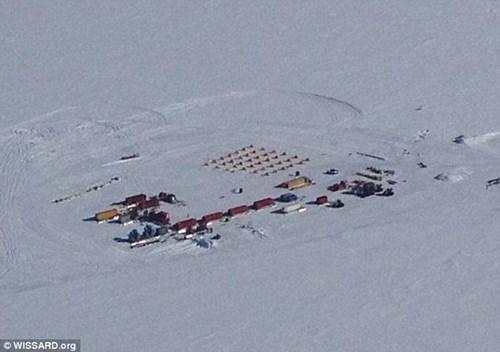 Thêm băng Ross nơi các nhà nghiên cứu phát hiện ra hiện tượng bí ẩn