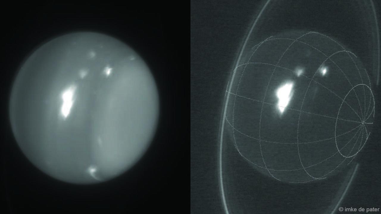 Hiện tượng bí ẩn xảy ra trên khí quyến Sao Thiên Vương