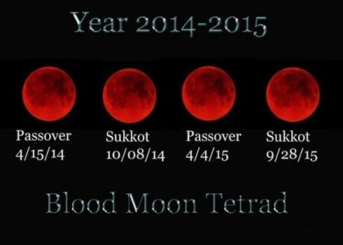 Mặt trăng máu được cho là gắn với rất nhiều hiện tượng bí ẩn