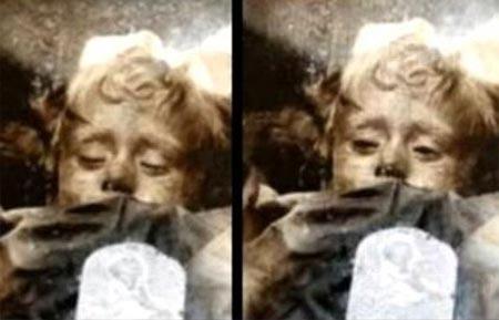 Hiện tượng bí ẩn xác ướp bé gái chớp mắt làm tò mò giới nghiên cứu