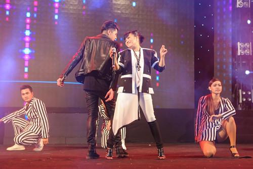 Phương Thanh cũng đến tham dự minishow của Noo Phước Thịnh