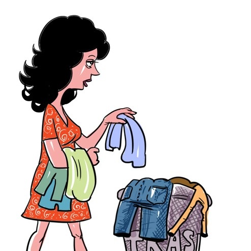 Hóa chất vẫn tồn tại trong quần áo dù đã giặt nhiều lần