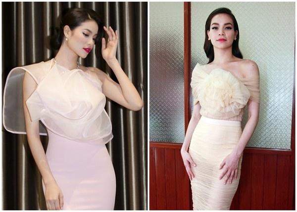 Nhiều người nhận xét Tân Hoa hậu Hoàn vũ Việt Nam 2015 – hoa hậu Phạm Hương có nhiều nét rất giống Hồ Ngọc Hà